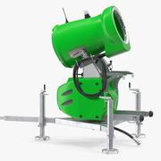 Arma 3D genérica modelo armada de neve 3d model