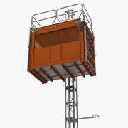 Heavy Duty Construction Passenger Hoist 3d model