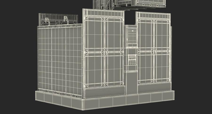 Gruas de construção royalty-free 3d model - Preview no. 33