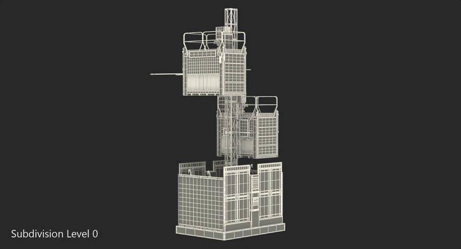 Gruas de construção royalty-free 3d model - Preview no. 26