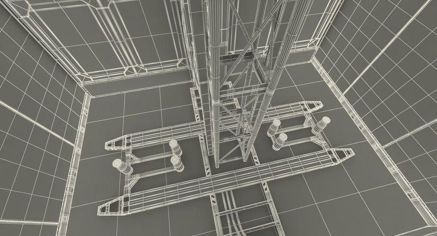 Gruas de construção royalty-free 3d model - Preview no. 36