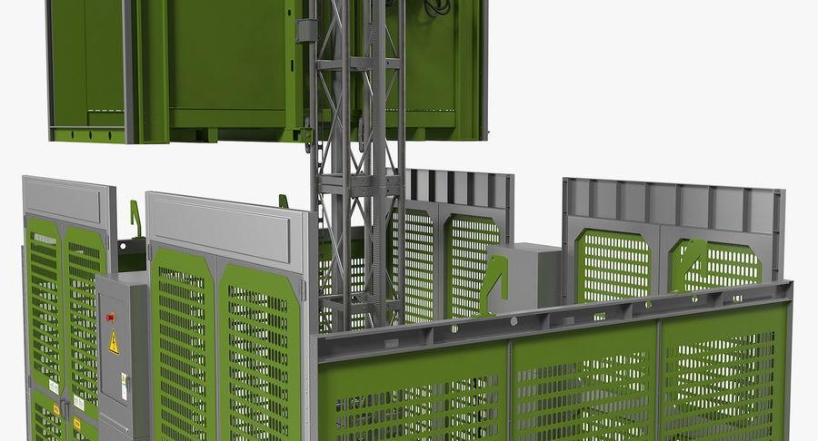 Gruas de construção royalty-free 3d model - Preview no. 13