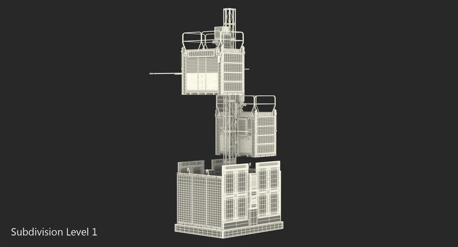 Gruas de construção royalty-free 3d model - Preview no. 27