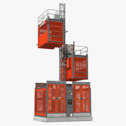 Heavy Duty Construction Lift 3d model