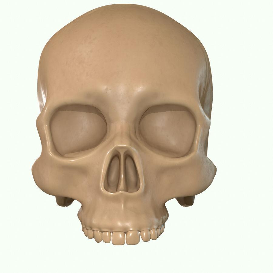 Anatomie musculaire de la tête complète royalty-free 3d model - Preview no. 54