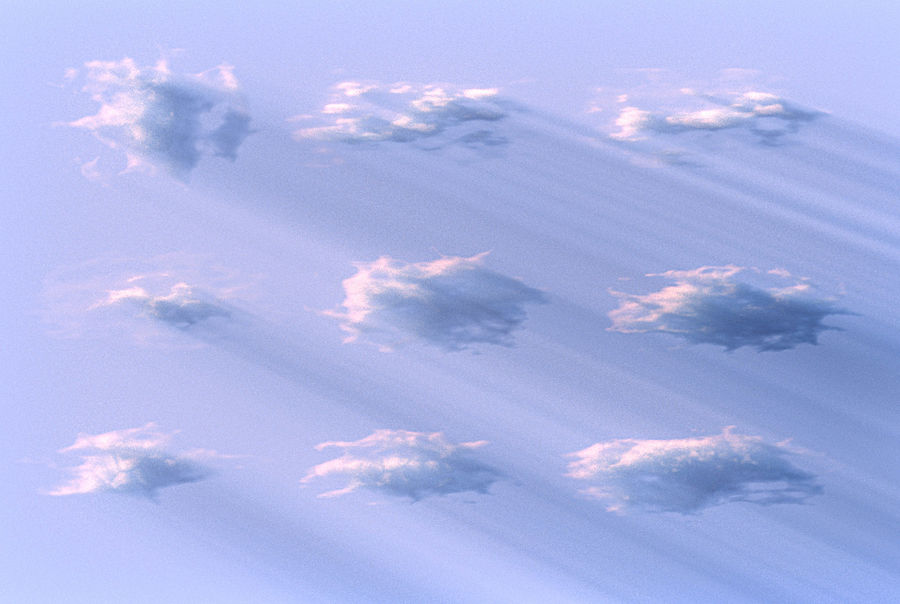 3D Clouds Animated royalty-free 3d model - Preview no. 1
