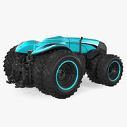 Self-Driving Drone Tractor 3d model