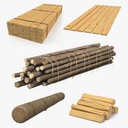 Wood 3D Modelsコレクション2 3d model