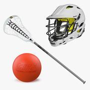 Lacrosse-Ausrüstungs-Sammlung der Modell-3D 3d model