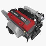 Silnik Honda F20C 2.0L 3d model