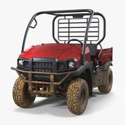 ATV 4x4 Dirty 3D 모델 3d model