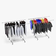 Vêtements sur pieds 3d model