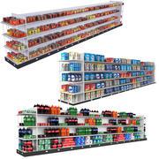 食料品店コレクション2 3d model