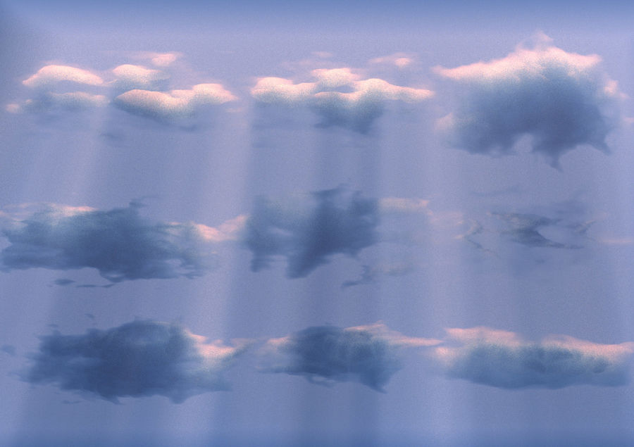 3D Clouds Animated Pack 9 royalty-free 3d model - Preview no. 11