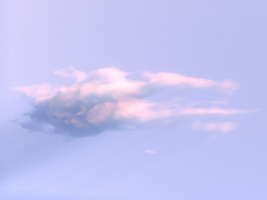 3D Clouds Animated Pack 9 royalty-free 3d model - Preview no. 9