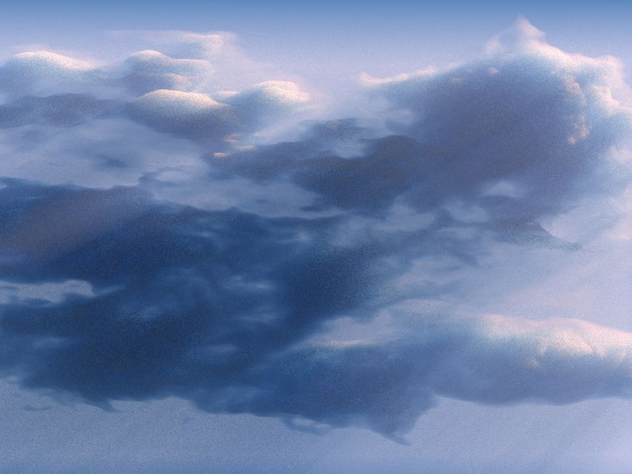 3D Clouds Animated Pack 9 royalty-free 3d model - Preview no. 7