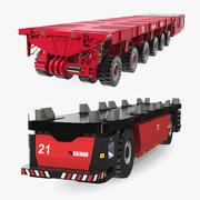 Self Propelled Modular Transporters Collection 3d model