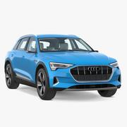 Audi E-tron 3D模型 3d model