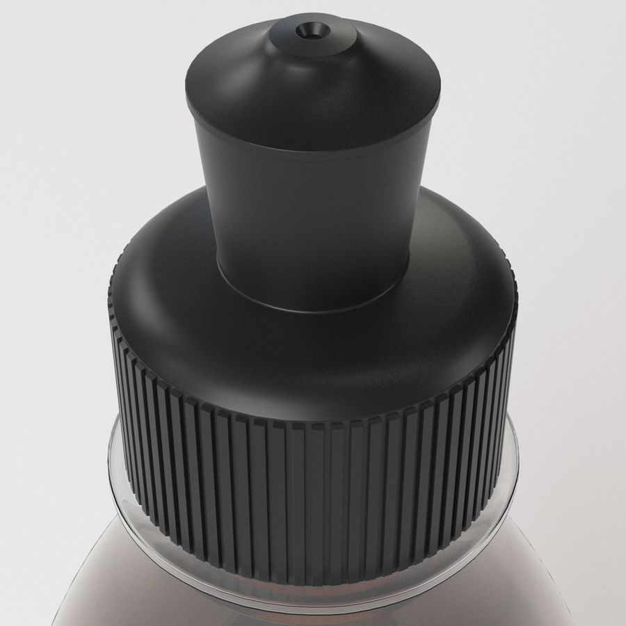 Bouteille de boisson énergétique royalty-free 3d model - Preview no. 5