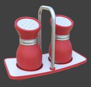 3D 소금 통 3d model