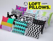 Loft pillows (Corona) 3d model