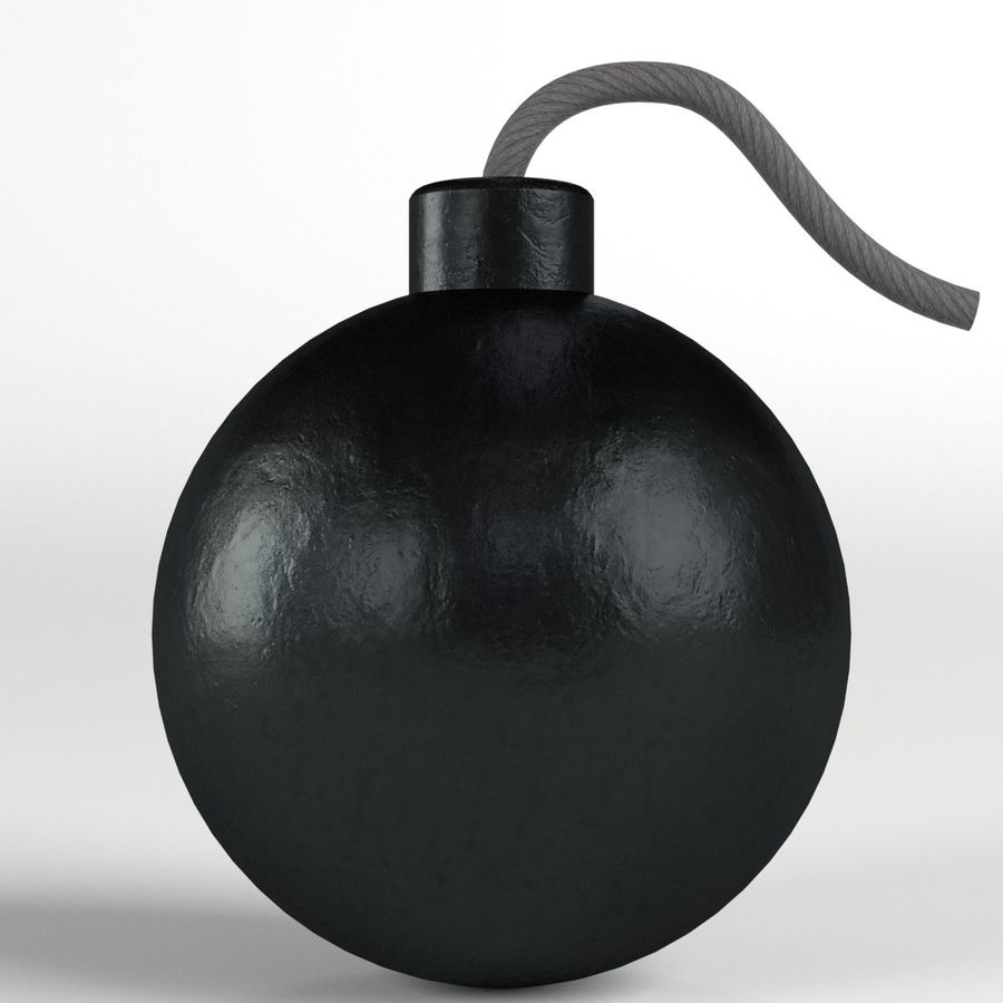 Bomb royalty-free 3d model - Preview no. 3