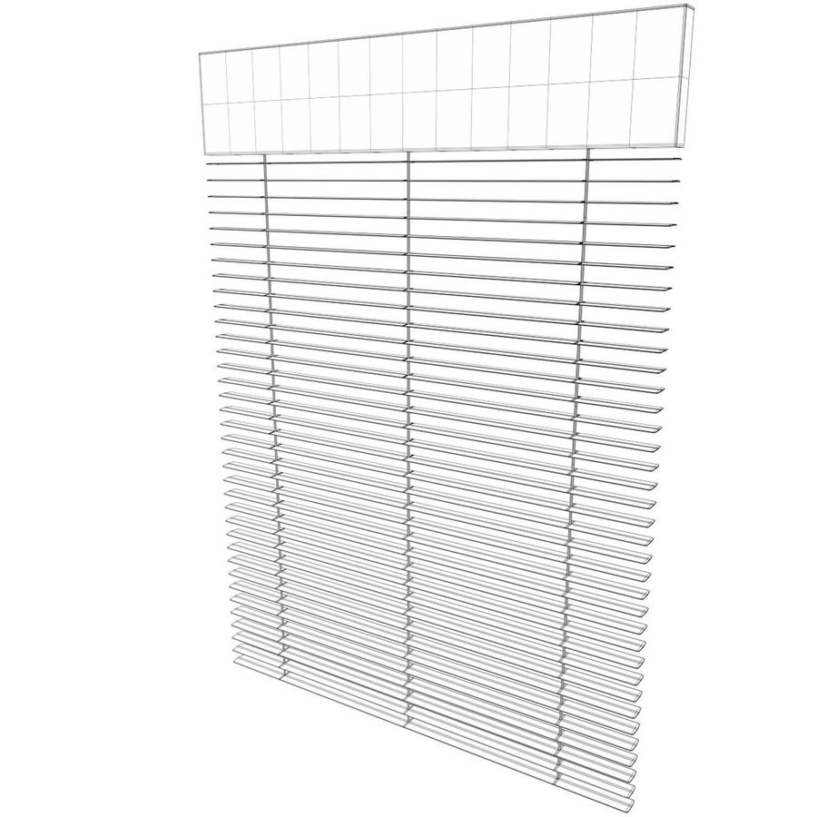 Window blind royalty-free 3d model - Preview no. 7