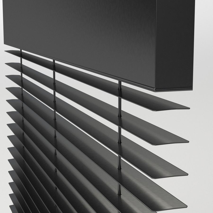 Window blind royalty-free 3d model - Preview no. 5