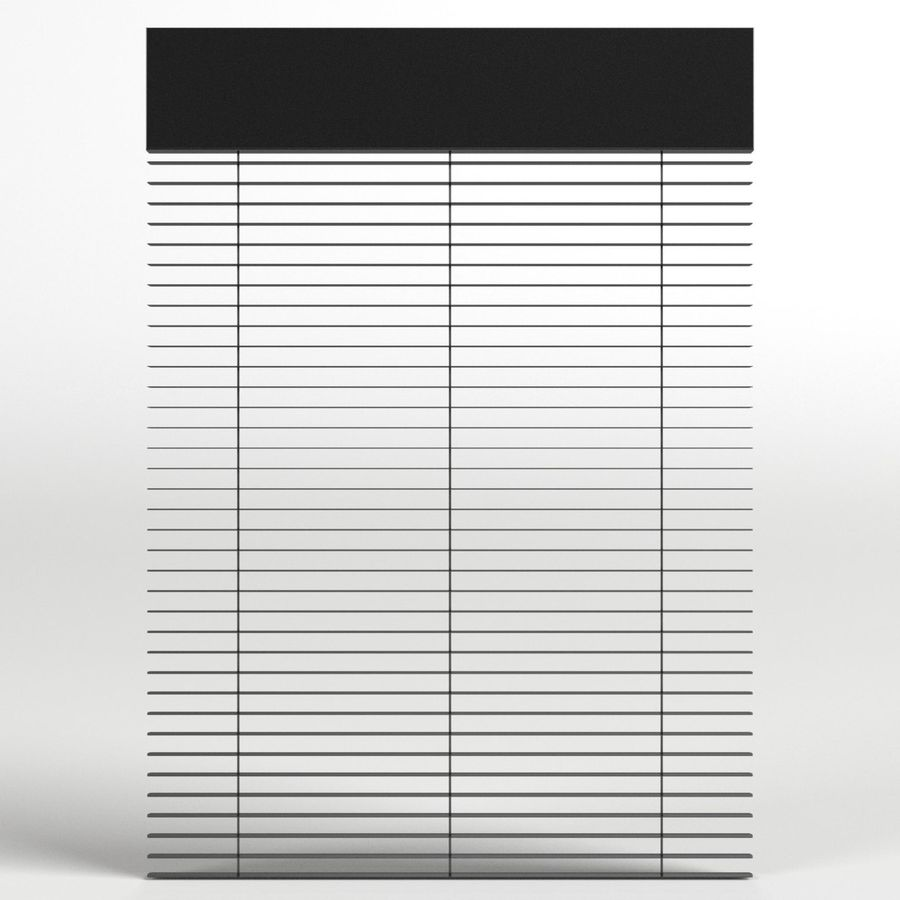Window blind royalty-free 3d model - Preview no. 3