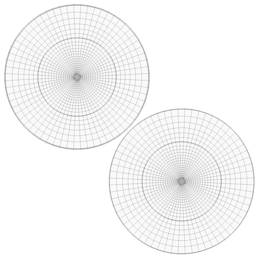 Dome surveillance camera royalty-free 3d model - Preview no. 13