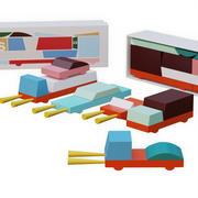 玩具车 3d model