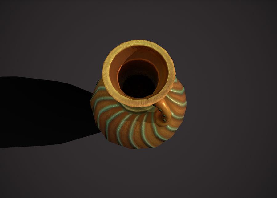 amphora royalty-free 3d model - Preview no. 7