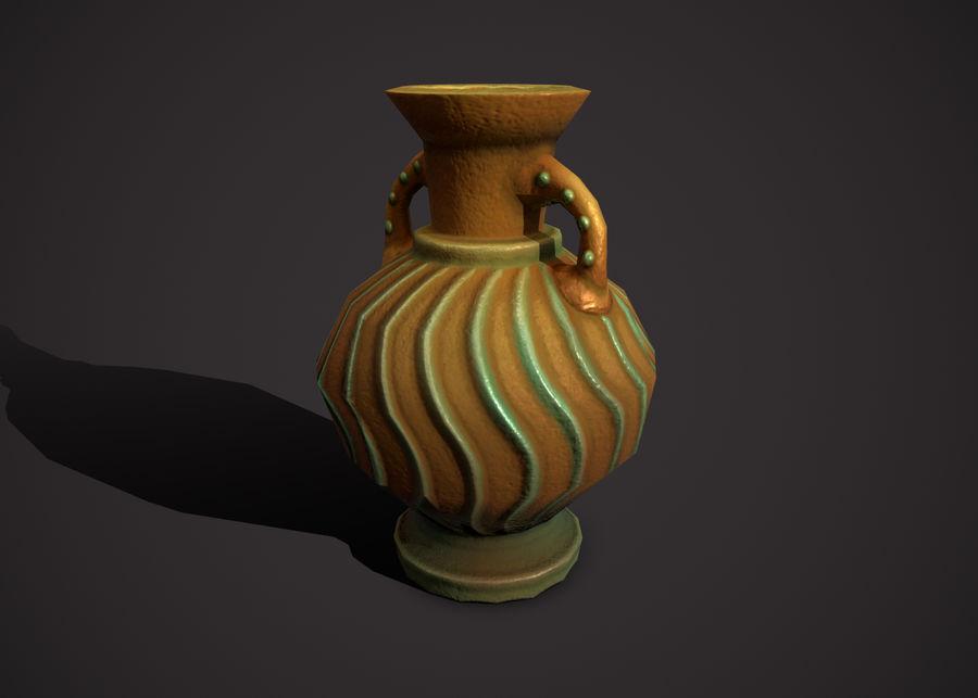 amphora royalty-free 3d model - Preview no. 4