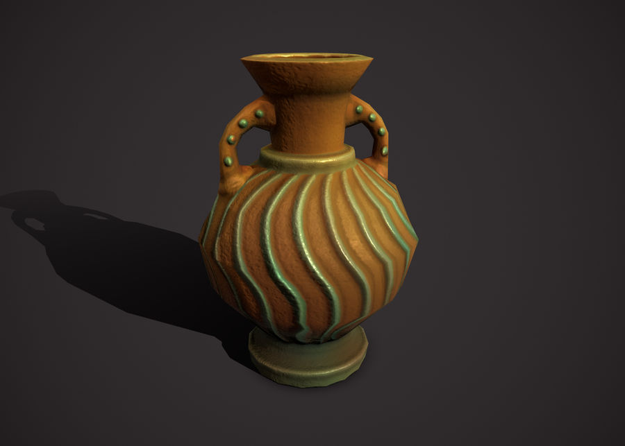 amphora royalty-free 3d model - Preview no. 1