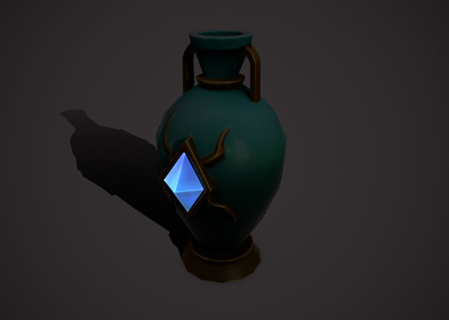 amphora royalty-free 3d model - Preview no. 5