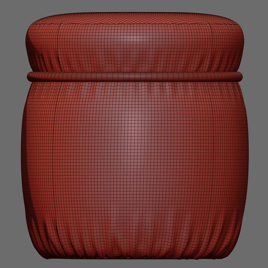 Pouf Bonaldo Ring royalty-free 3d model - Preview no. 5