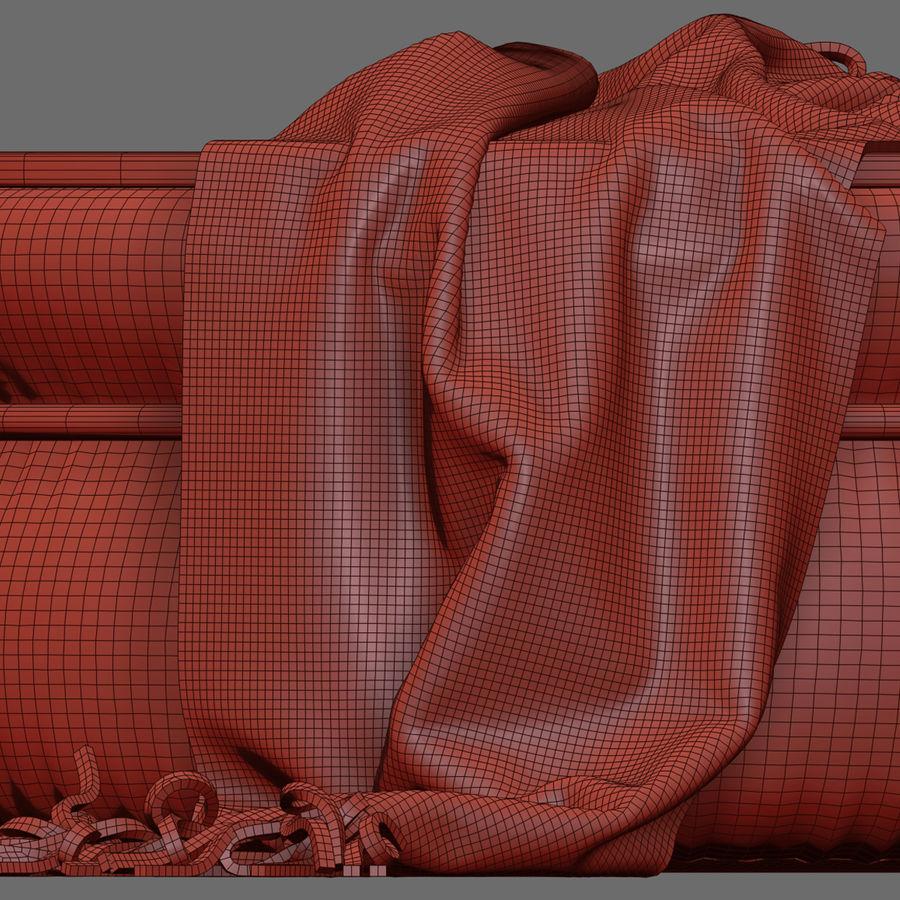 Pouf Bonaldo Ring royalty-free 3d model - Preview no. 6
