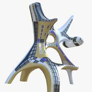 Budynek przyszłości (1) 3d model