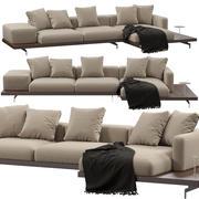 Bebitalia Dock sofa 3d model