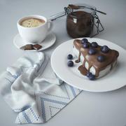 Chocolate dessert 3d model