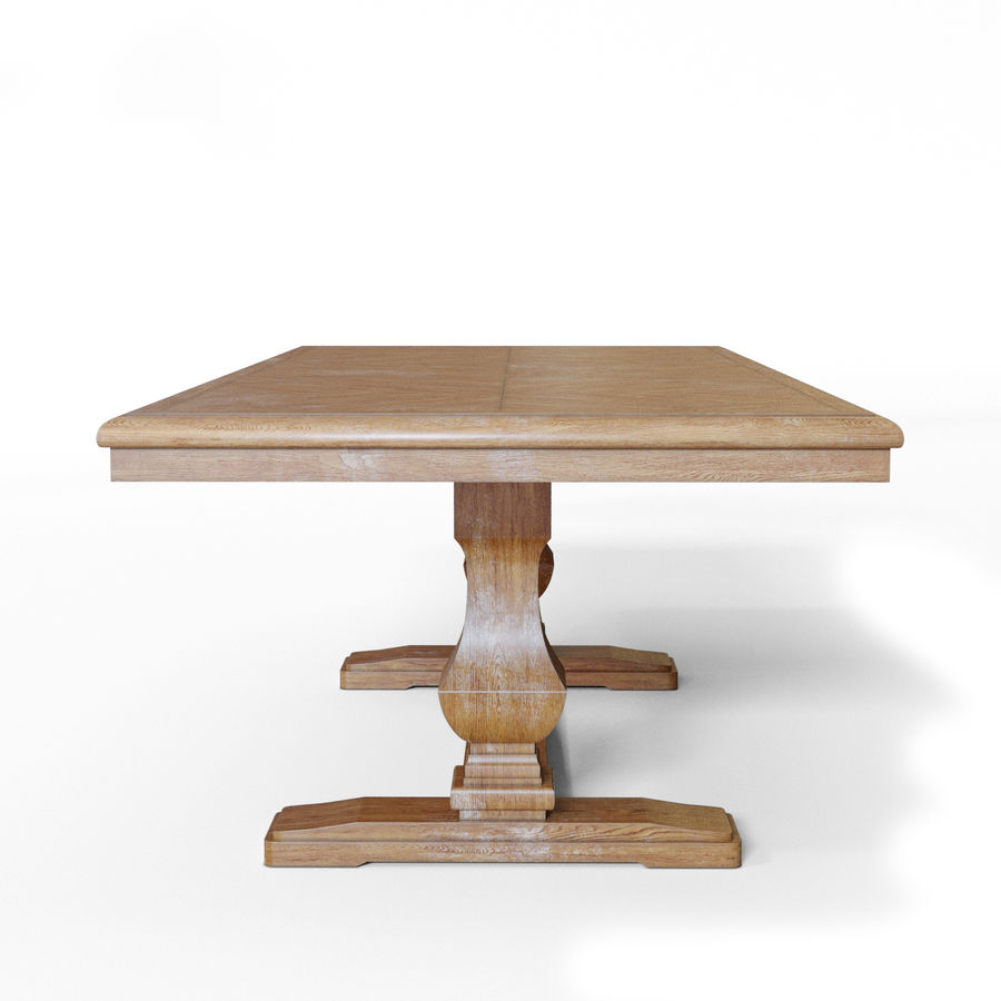 Stół do jadalni OLLESBURG firmy Ashley royalty-free 3d model - Preview no. 3