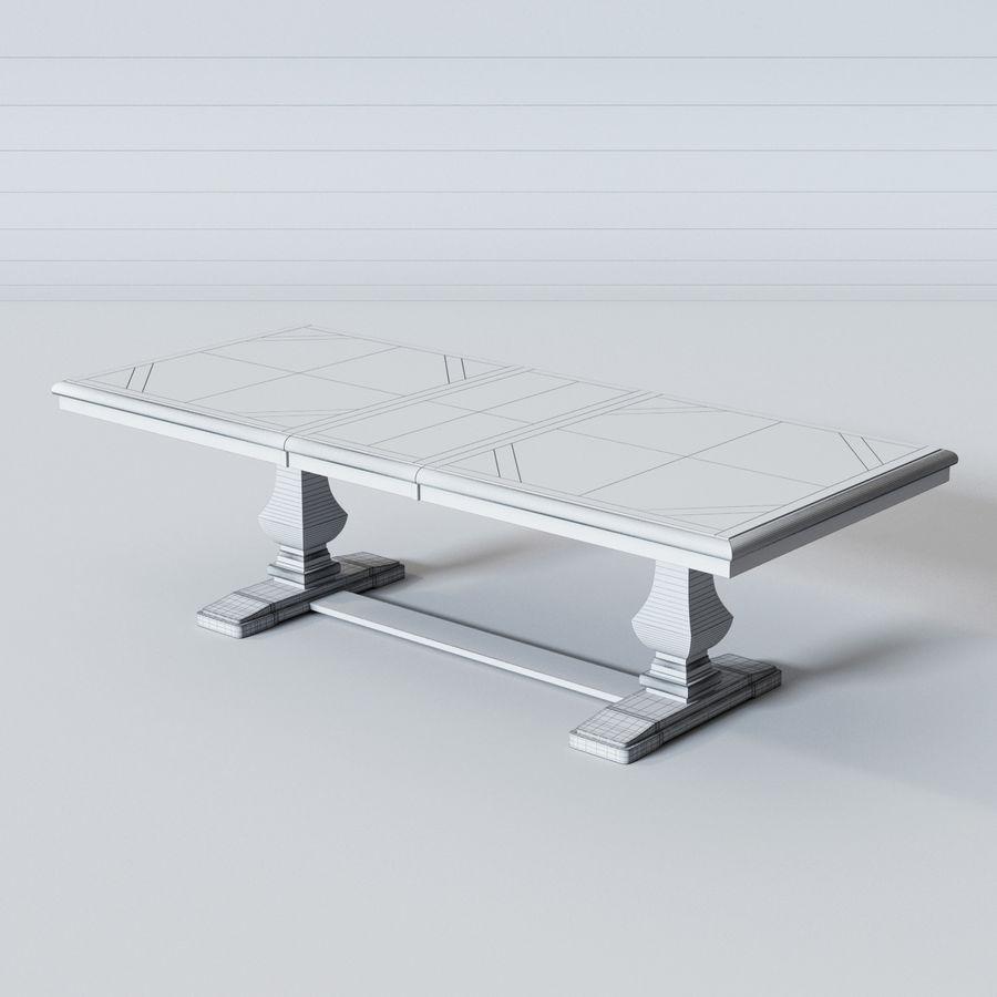 Stół do jadalni OLLESBURG firmy Ashley royalty-free 3d model - Preview no. 5
