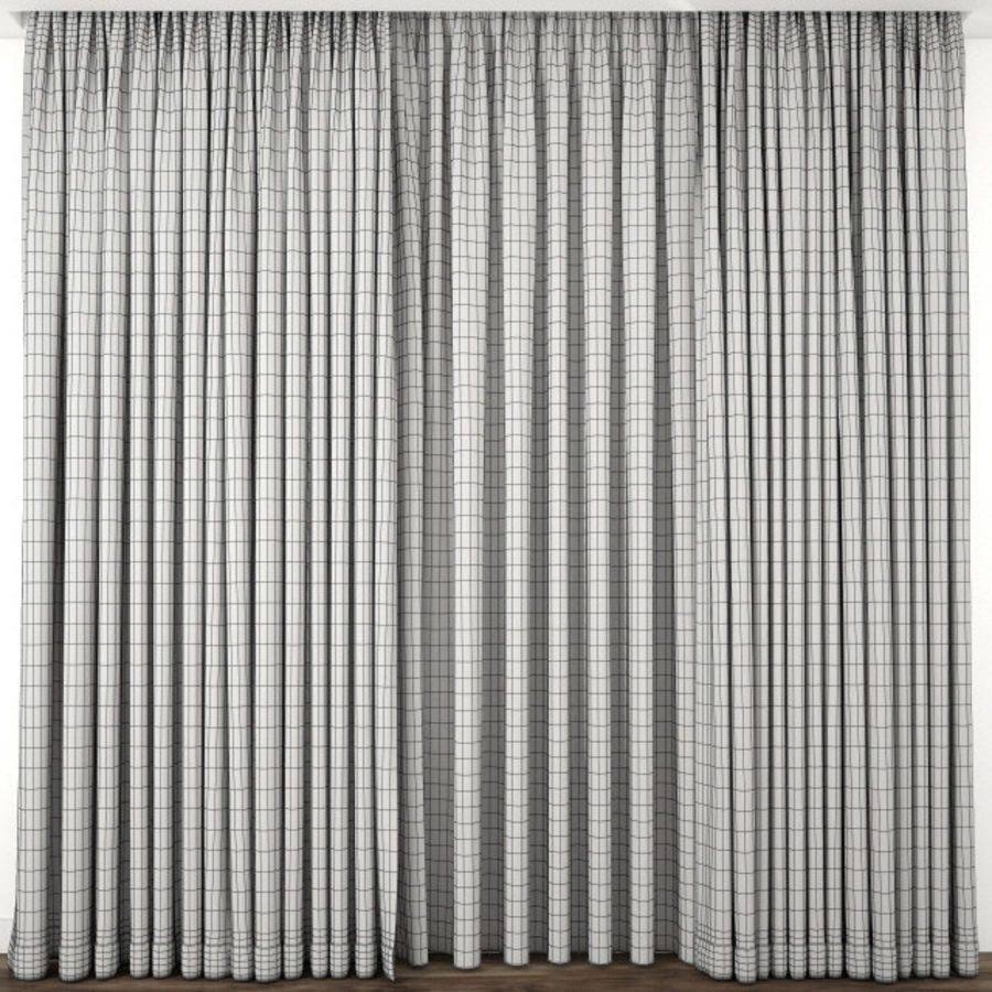 Curtain 65 royalty-free 3d model - Preview no. 4