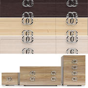床头柜和床头柜Prestige Status factory 3d model