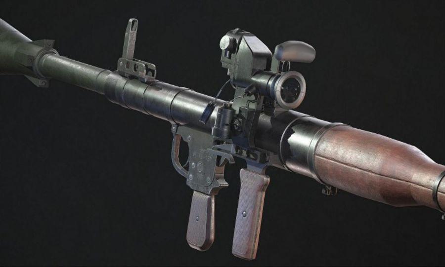 RPG-7(AlphaStudios) royalty-free 3d model - Preview no. 2