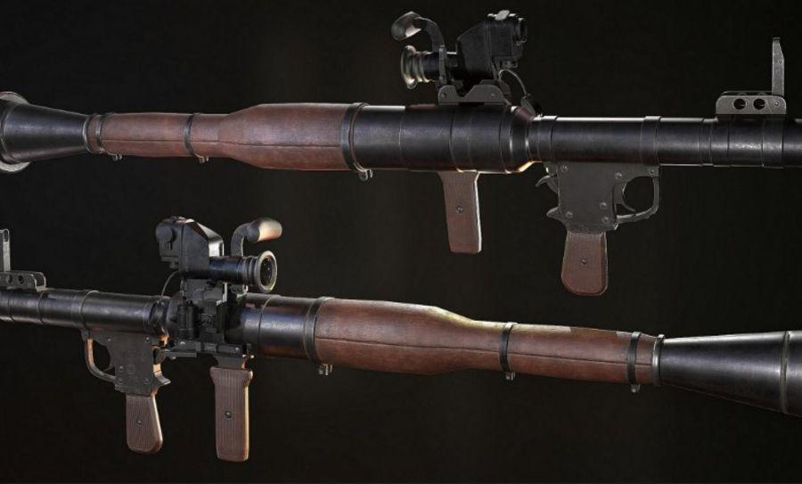 RPG-7(AlphaStudios) royalty-free 3d model - Preview no. 1
