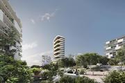 Concept Building 002 3d model
