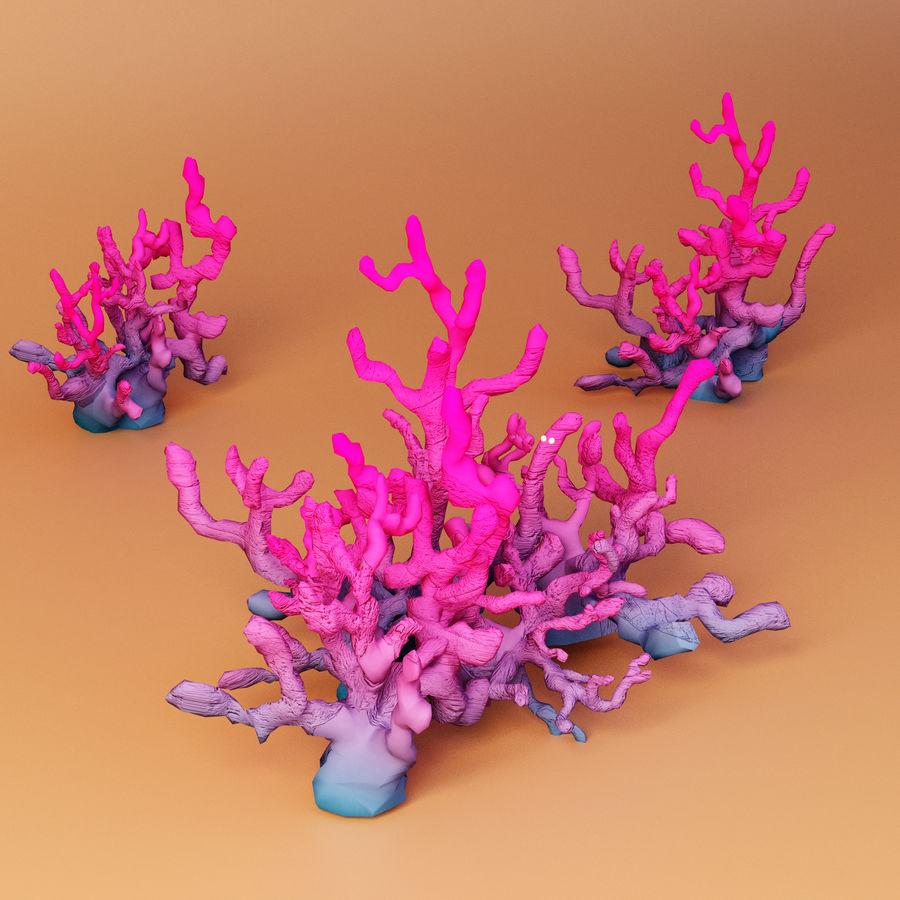 Aquatic plants royalty-free 3d model - Preview no. 2