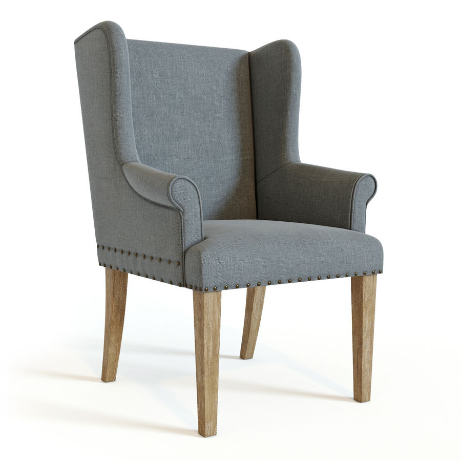 Ollesburg Dining Room Chair royalty-free 3d model - Preview no. 1