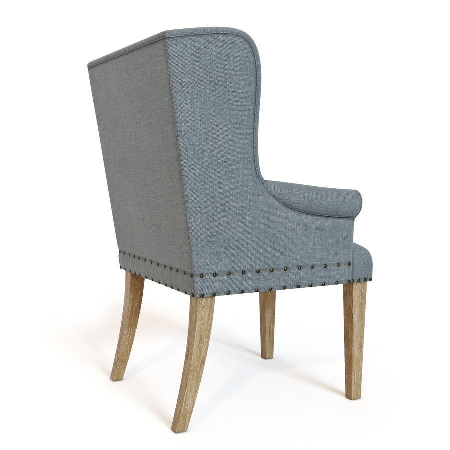 Ollesburg Dining Room Chair royalty-free 3d model - Preview no. 3